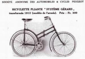 Ancien vélo pliant