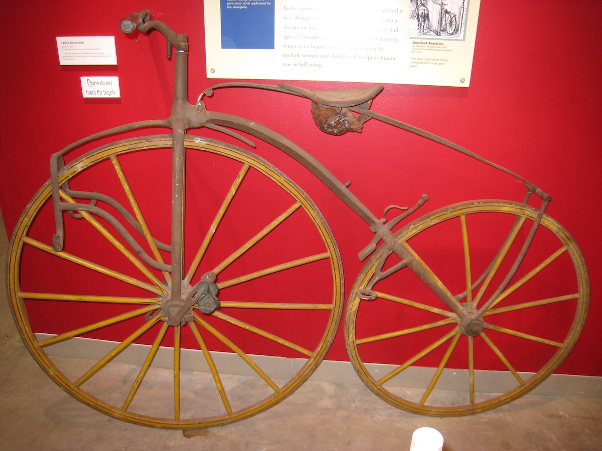 Boneshaker bicycle