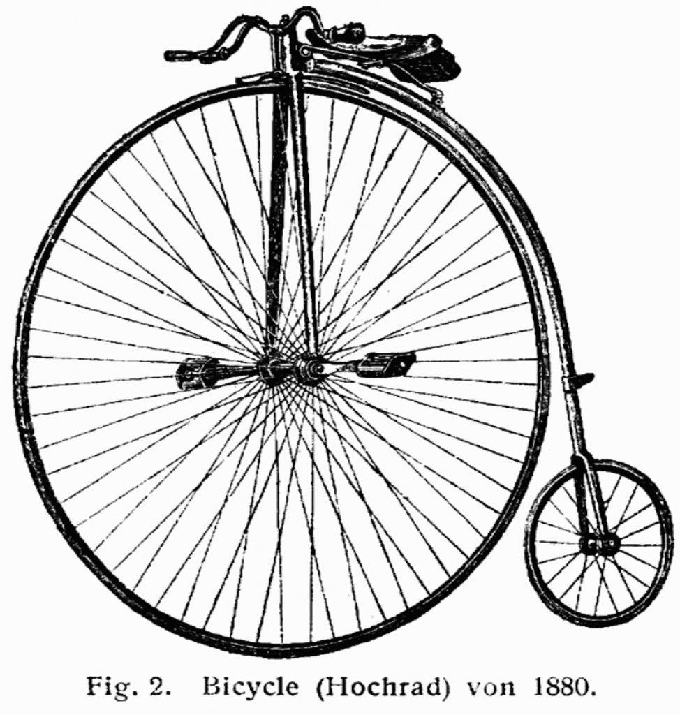 Vélo portable ancien